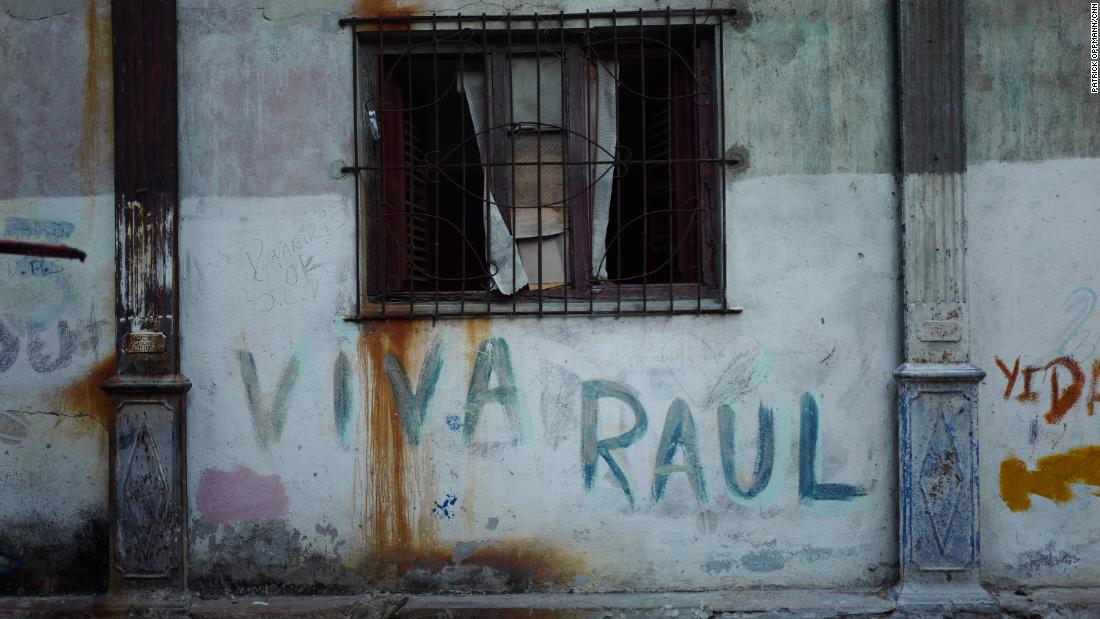 """Long live Raul,"" reads a pro-government message written on a wall in Havana. Now 86 years old, Raul Castro will step down as president of Cuba on April 19, 2018. Although he will remain as the powerful first secretary of the Communist Party in Cuba, Castro says it is time for the next generation of supporters of the Cuban revolution to take power."
