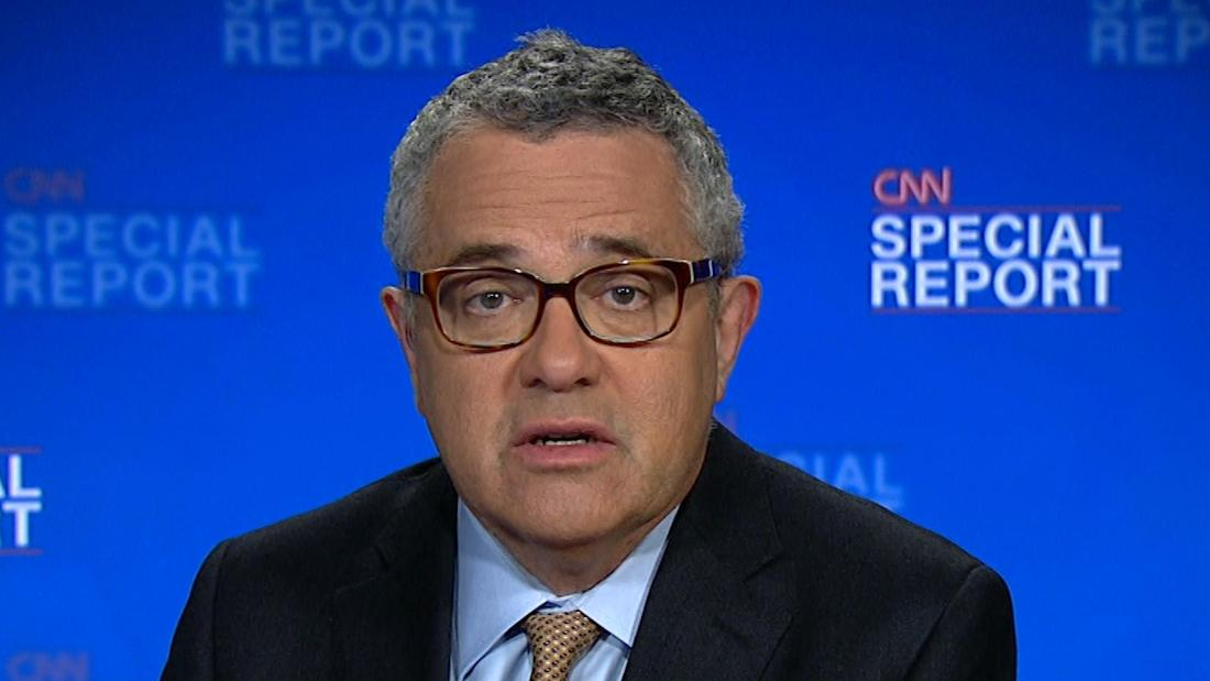 image of Toobin: Comey's account devastating for Trump