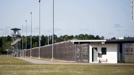 Lee Correctional Institution has a capacity of about 1,650 inmates.