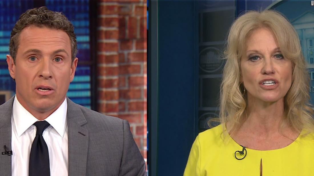 image of Conway: All Comey had to do was keep mouth shut