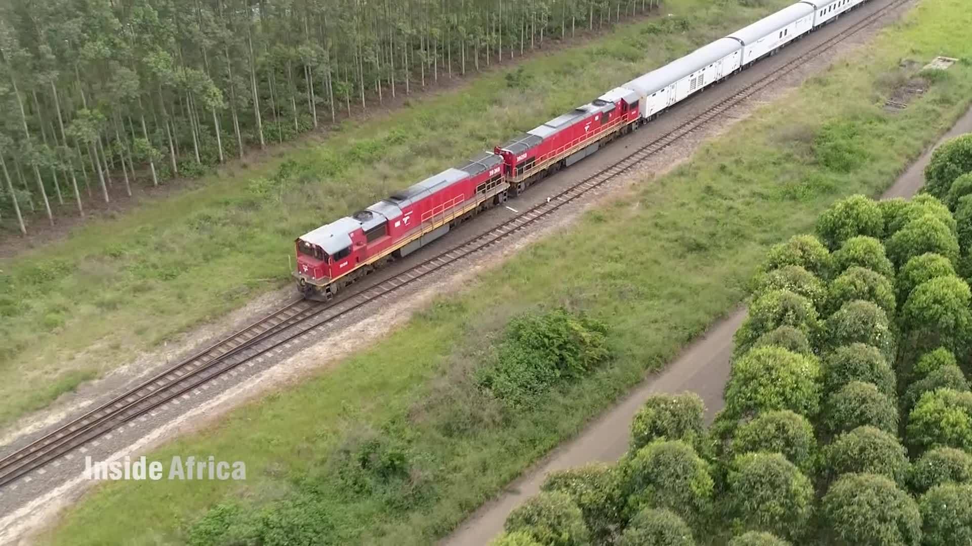 The journey of the Phelophepa train - CNN Video
