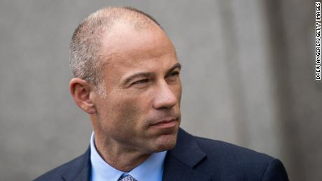 NEW YORK, NY - APRIL 13: Michael Avenatti, attorney for Stormy Daniels, speaks to reporters following a court proceeding regarding the search warrants served on President Donald Trump's longtime personal attorney Michael Cohen, at the United States District Court Southern District of New York, April 13, 2018 in New York City.(Drew Angerer/Getty Images)