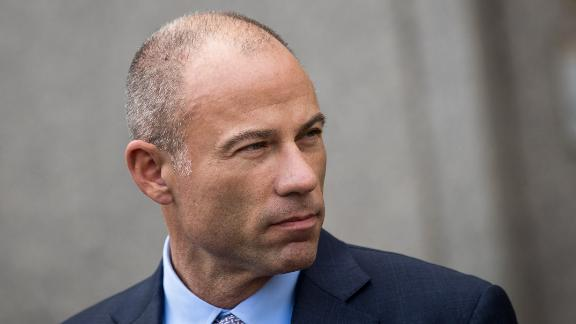 NEW YORK, NY - APRIL 13: Michael Avenatti, attorney for Stormy Daniels, speaks to reporters following a court proceeding regarding the search warrants served on President Donald Trump