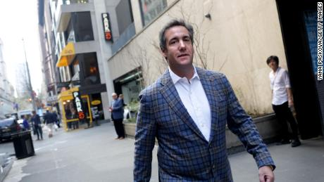 Michael Cohen, U.S. President Donald Trump's personal attorney, walks to the Loews Regency hotel on Park Ave on April 13, 2018 in New York City. (Yana Paskova/Getty Images)