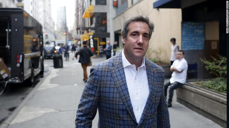 Is Trump distancing himself from Cohen?
