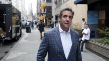 Michael Cohen, President Donald Trump's attorney, walks to the Loews Regency hotel on Park Ave on April 13, 2018 in New York City. Following FBI raids on his home, office and hotel room, the Department of Justice announced that they are placing him under criminal investigation. (Yana Paskova/Getty Images)