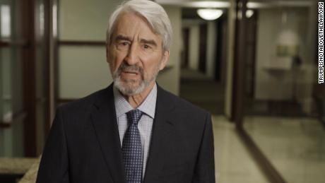 """Law & Order"" star Sam Waterston is in a new video calling for people to protest the potential firing of Rod Rosenstein"