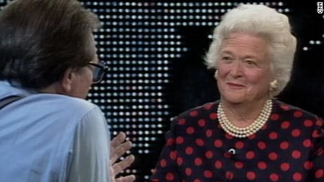 1994: Barbara Bush on her life in White House