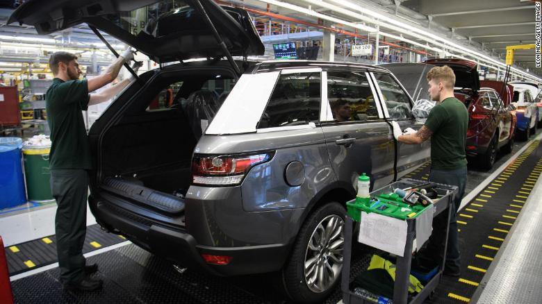 Jaguar Land Rover Is Slashing 4 500 Jobs Cnn