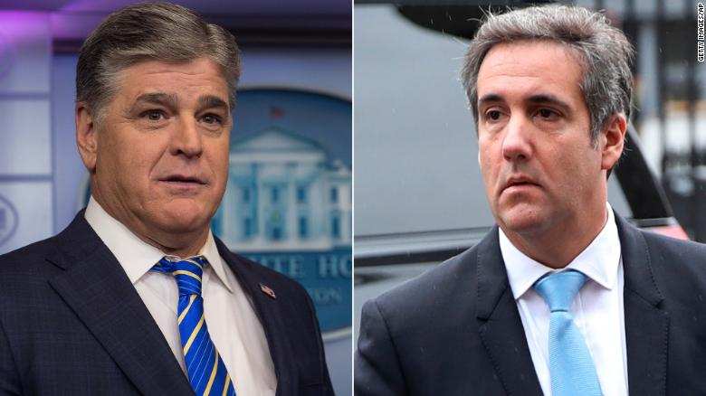 Cohen's third client is Sean Hannity
