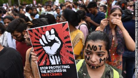 Rape cases spark political protest movement in India