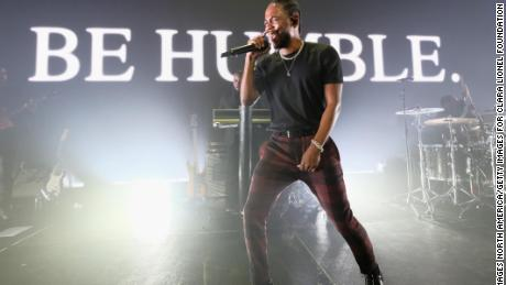 NEW YORK, NY - SEPTEMBER 14:  Kendrick Lamar performs onstage at Rihanna's 3rd Annual Diamond Ball Benefitting The Clara Lionel Foundation at Cipriani Wall Street on September 14, 2017 in New York City.  (Photo by Dimitrios Kambouris/Getty Images for Clara Lionel Foundation)