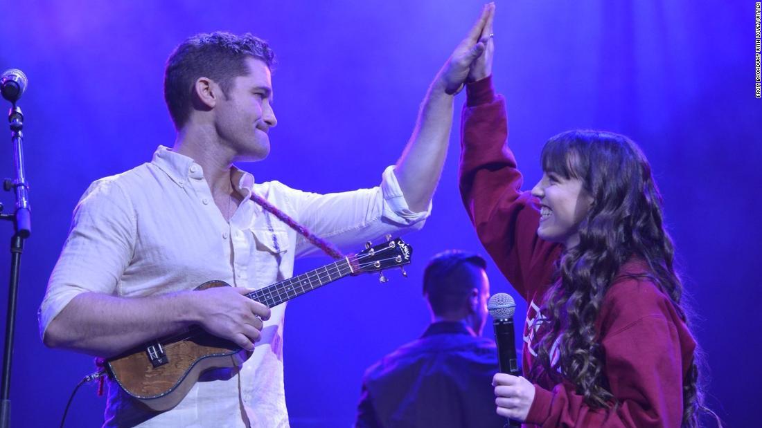 Stars join Parkland students for benefit concert
