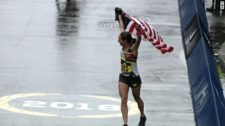 American woman first to win marathon since 1985