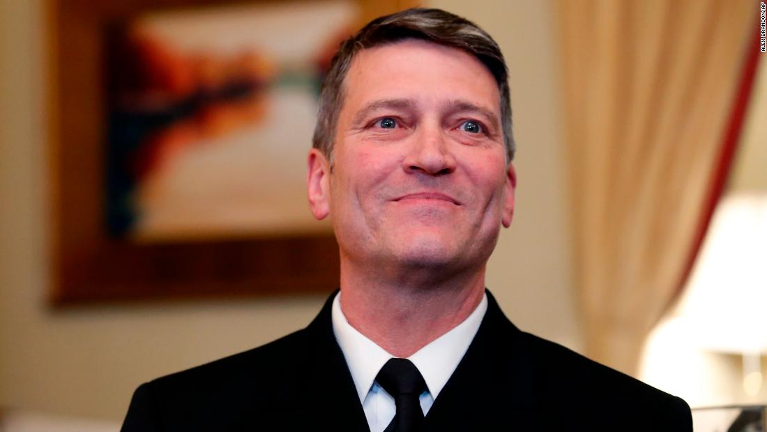 Rear Adm. Ronny Jackson drunkenly banged on a woman's hotel door on an  overseas trip, sources say