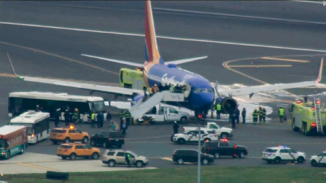 Southwest flight makes emergency landing in Philadelphia