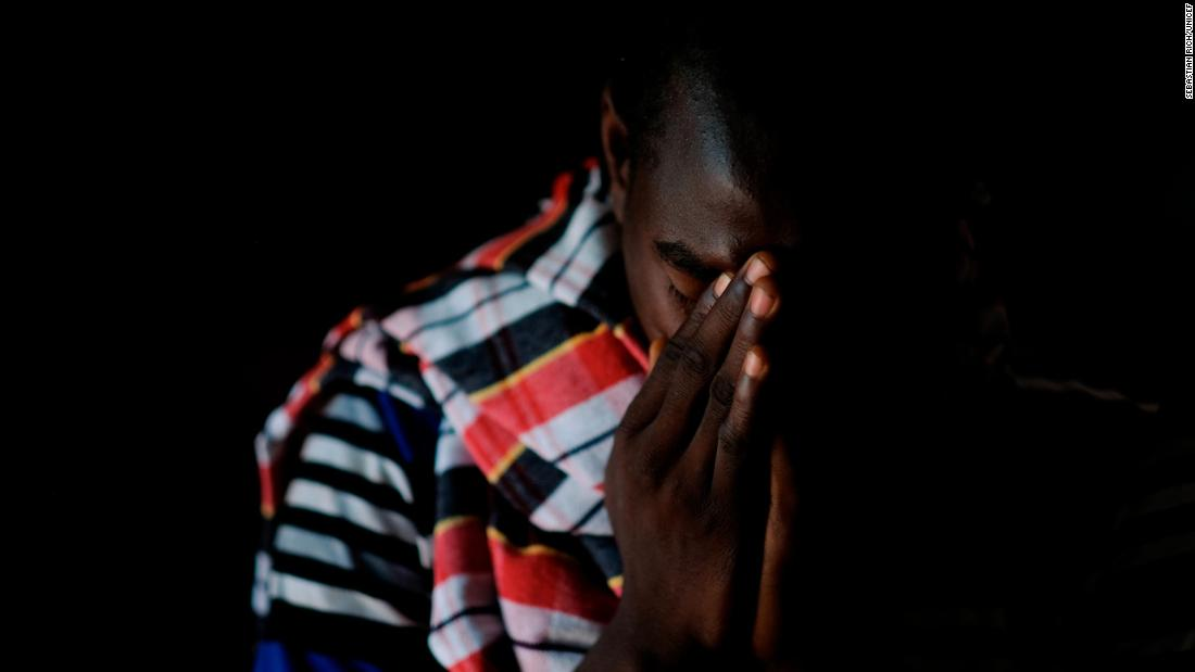 Joseph,17, served as a solider in the ranks of the armed group in South Sudan.He is waiting to be reunited with his family at Tindoka Childcare Center, Yambio, South Sudan.Photo Credit: Sebastian Rich