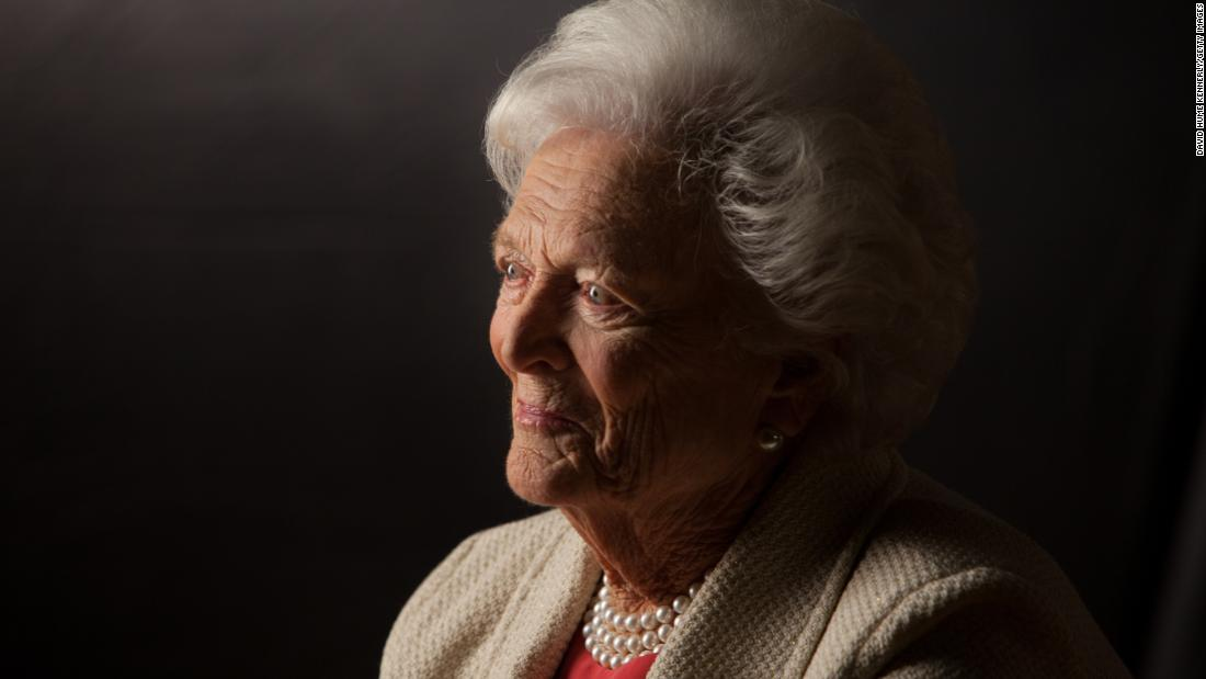 "<a href=""https://www.cnn.com/2018/04/17/politics/barbara-bush-dies/index.html"" target=""_blank"">Barbara Bush</a>, the matriarch of a Republican political dynasty and a first lady who elevated the cause of literacy, died Tuesday, April 17, according to a statement from her husband's office. She was 92."