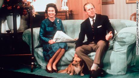 "The royal couple have also owned ""dorgies"" -- a cross between a dachshund and a corgi."