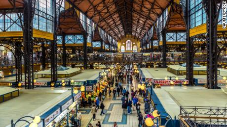 Exploring Budapest's oldest indoor market