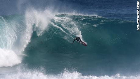 Margaret River is a renowned surf spot on Australia's southwest coast.