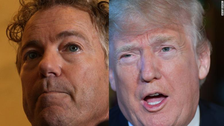 Trump: Rand Paul won't let me down on Pompeo