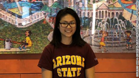 Wanda Sihanath, 22, received gene therapy for beta thalassemia. Now a college senior at Arizona State University, she says she has been transfusion-free for the past four years.