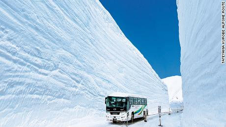 Tateyama Kurobe Alpone Route Roof of Japan