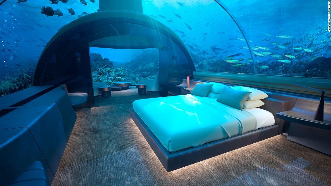 Bawah laut pertama di dunia hotel residence terbuka
