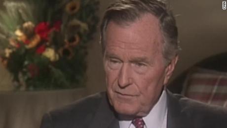 George H W Bush My Extraordinary Life 1999 Cnn Video