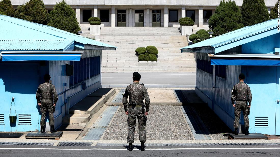 Kim Jong Un to cross line at...