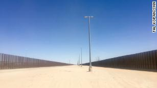 Snapshots from the US-Mexico border