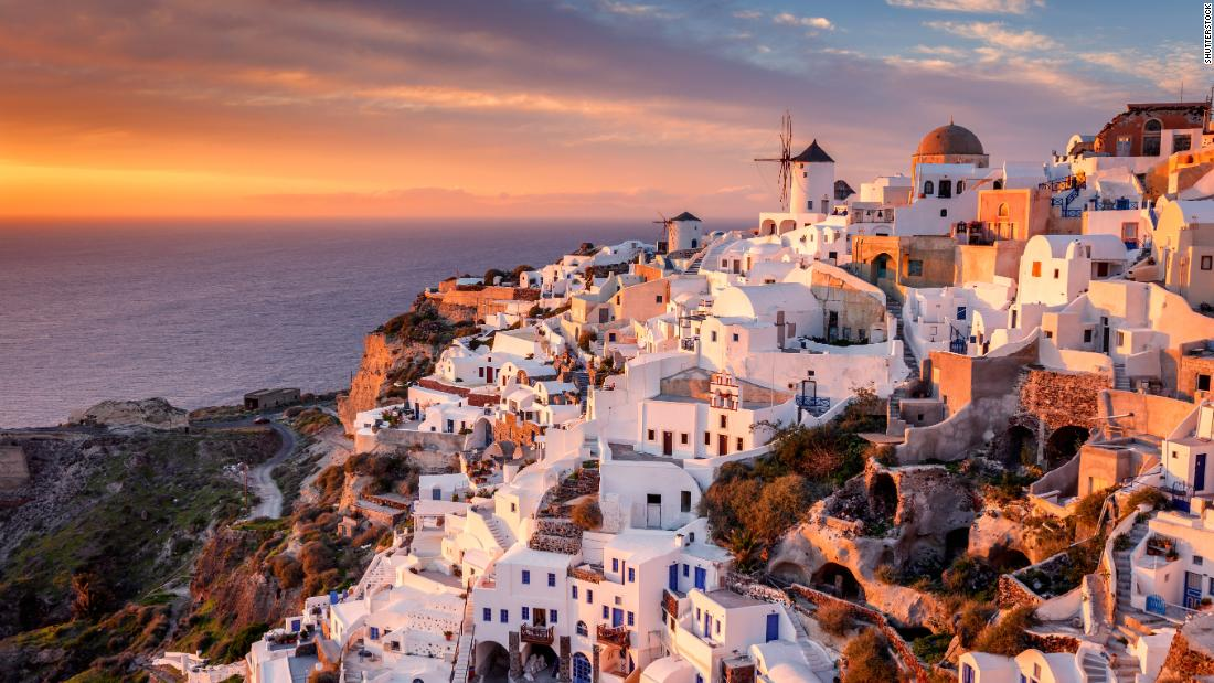 Has Santorini island found a savior?