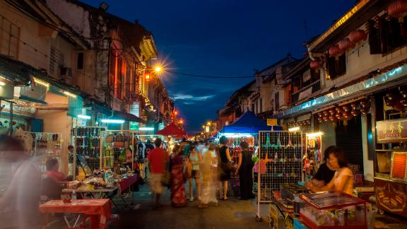 Malacca City, Malaysia: Jonker Street, in the Malaysian city of Malacca, is famous for its night market on Fridays and Saturdays.