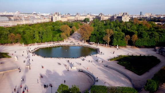Paris: The Ferris wheel in Tuileries Garden offers spectacular views over the French capital, including the Louvre, one of the world