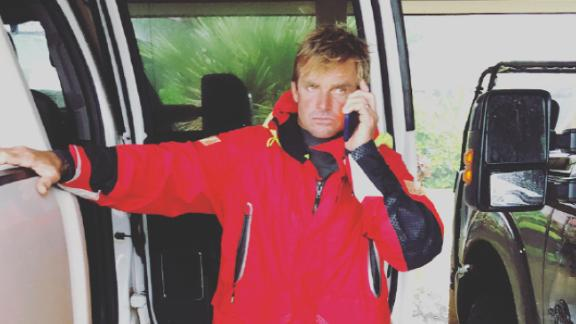 """""""If you have compassion, this is what you do,"""" Laird Hamilton said."""