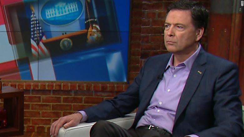 Tapper presses Comey on comments about Trump
