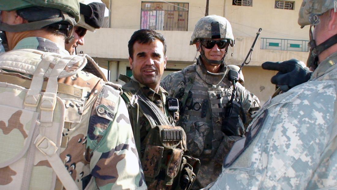 "Berwari, from Duhok in Iraqi Kurdistan, worked alongside US troops who called him ""Crazy Fakhir"" because of his gung-ho attitude to neutralizing mines and roadside bombs with just a knife and wire clippers."