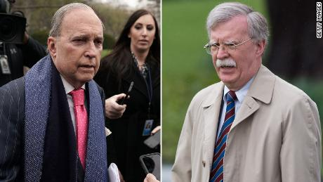 Larry Kudlow and John Bolton