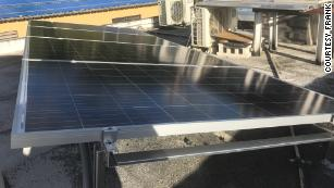 Tired of waiting for electricity in Puerto Rico, man builds his own solar power system