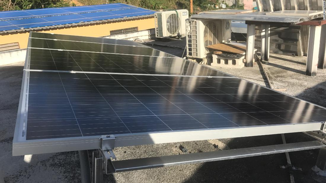 Tired of waiting for electricity in Puerto Rico, man builds ... on