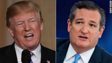 Trump, Cruz mend fences and try to save each other