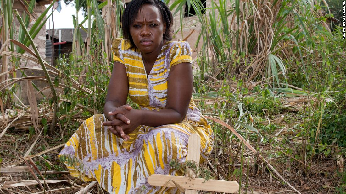 The woman saving village from lead poisoning
