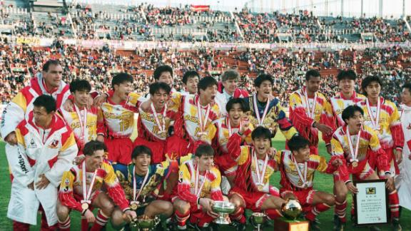 The Frenchman joined Arsenal in 1996 after managing Japanese club Nagoya Grampus Eight. Twenty years after his brief stay in Japan, Wenger