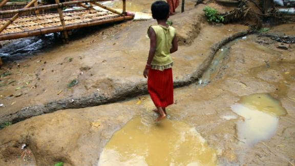 The first rains of 2018 have fallen on Rohingya camps in Cox