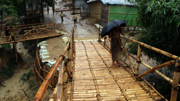 The rains signal even harder times ahead for Rohingya families who fled brutal violence in Myanmar before coming to Bangladesh.