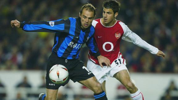 In years to come, Wenger would attempt to rebuild and renovate his team. In 2003, he signed Cesc Fabregas -- who became Arsenal