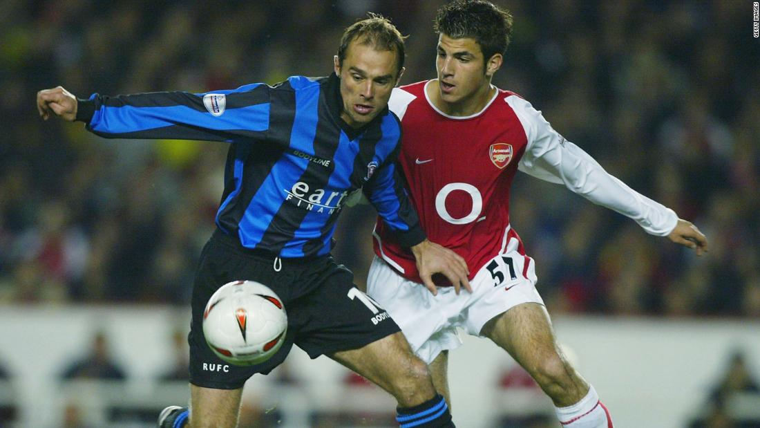 In years to come, Wenger would attempt to rebuild and renovate his team. In 2003, he signed Cesc Fabregas -- who became Arsenal's youngest ever played at the age of 16.