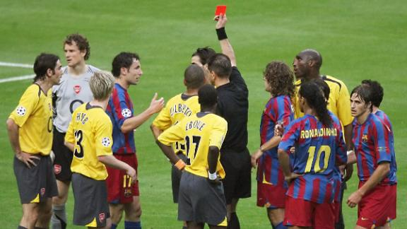 There were still highlights, though. In 2006, the team reached the final of the Champions League but lost 2-1 to Barcelona. Arsenal led for much of the match before conceding two late goals. The first-half sending off of Arsenal goalkeeper Jens Lehmann made the task all the more difficult.