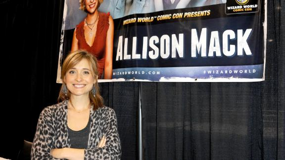 Actress Allison Mack attends Day 3 of Wizard World Chicago Comic Con 2013 held at the Donald E. Stephens Convention Center on August 11, 2013 in Rosemont, Illinois.